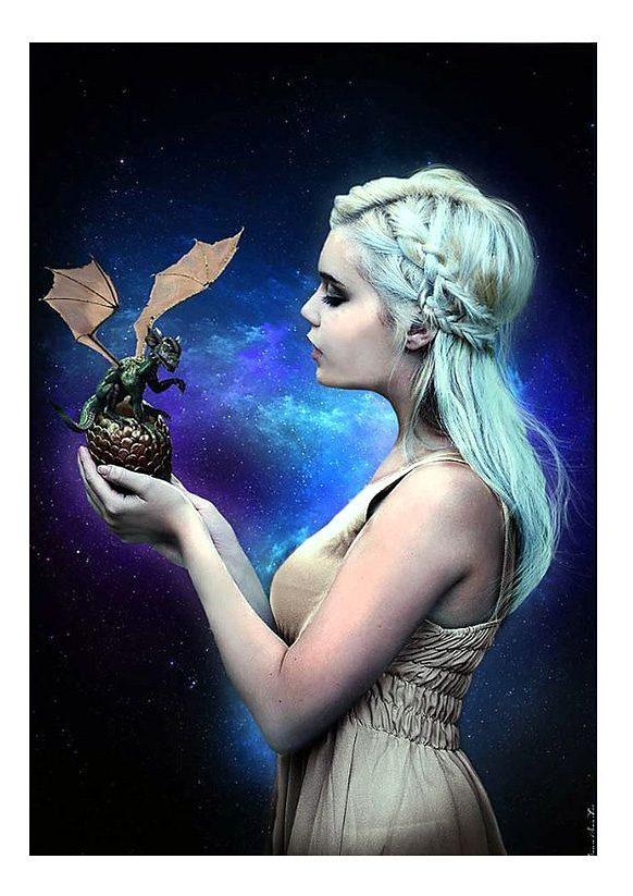 Wandbild, »Dragonqueen«, Premium Picture