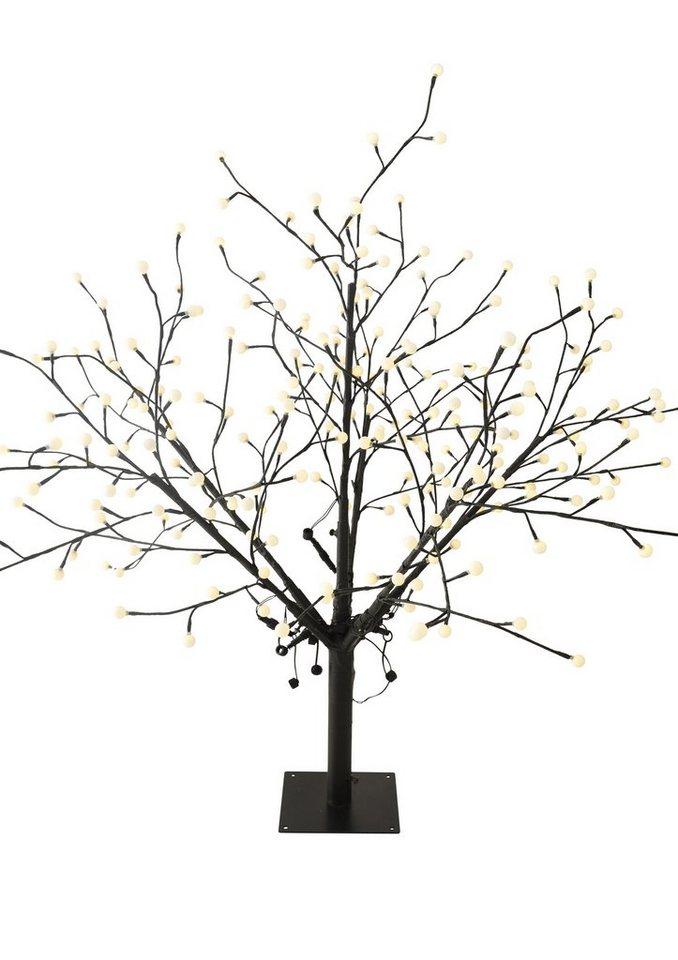 LED Baum, Näve in schwarz