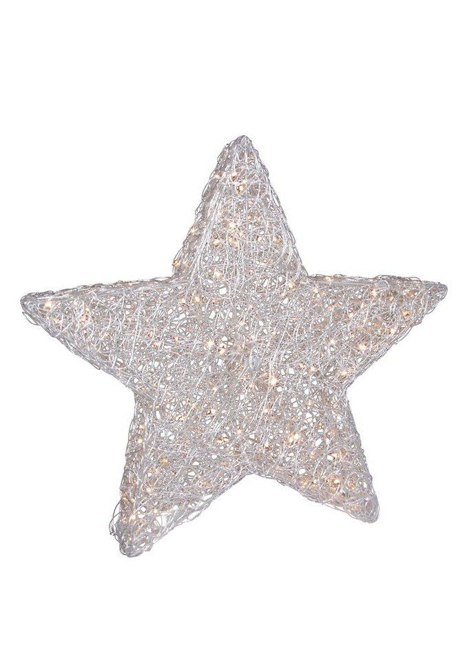 LED-Tischleuchte, »Stern«, Näve in weiß