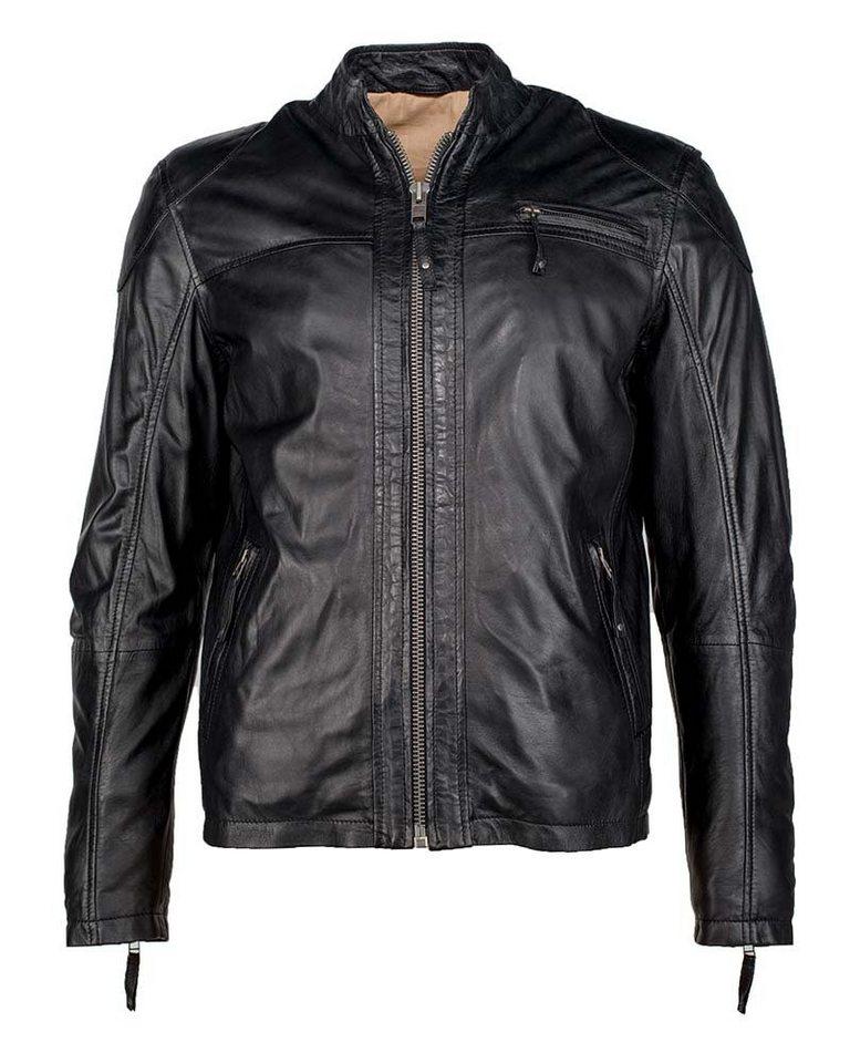 JCC Lederjacke, Herren »Posam2« in black
