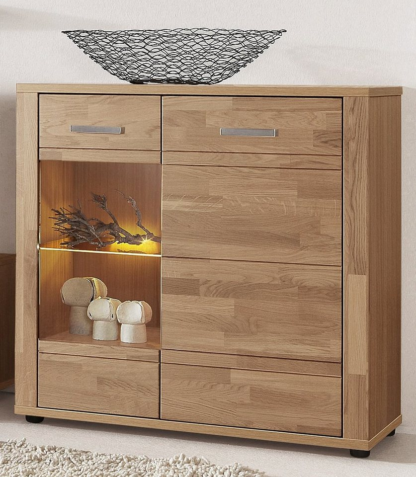 standvitrine h he 88 cm online kaufen otto. Black Bedroom Furniture Sets. Home Design Ideas