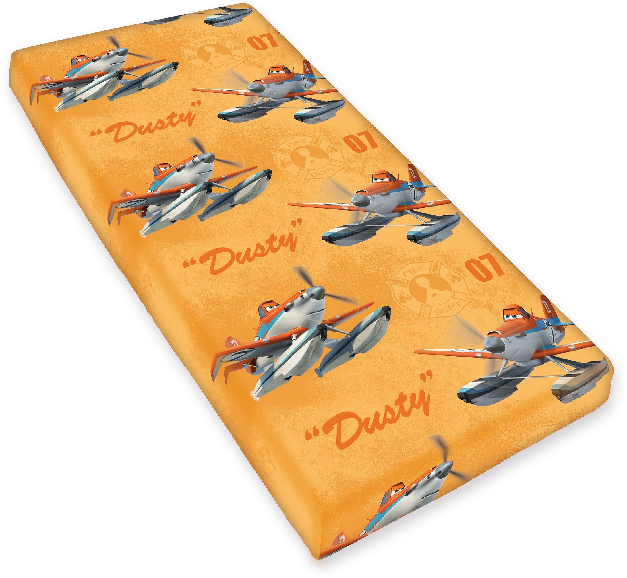 Spannbettlaken, Disney, »Planes 2 - Fire & Rescue«, Renforcé
