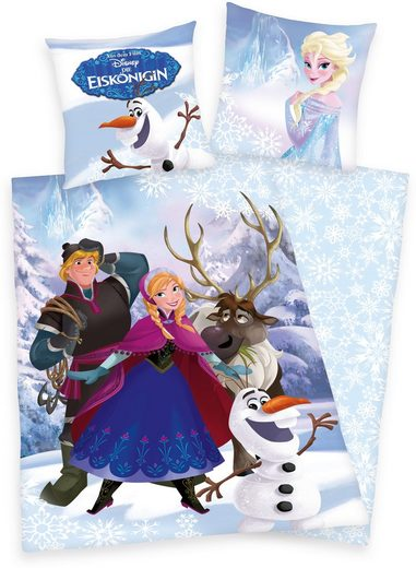 Kinderbettwäsche »Eiskönigin«, Walt Disney