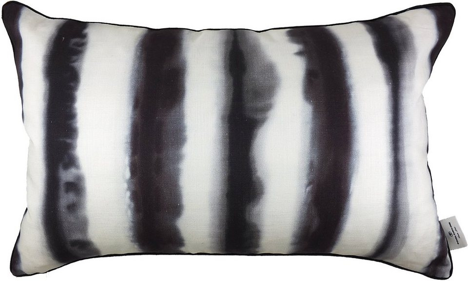 Kissenhüllen, Tom tailor, »Zebra« (1 Stück) in grau/weiß