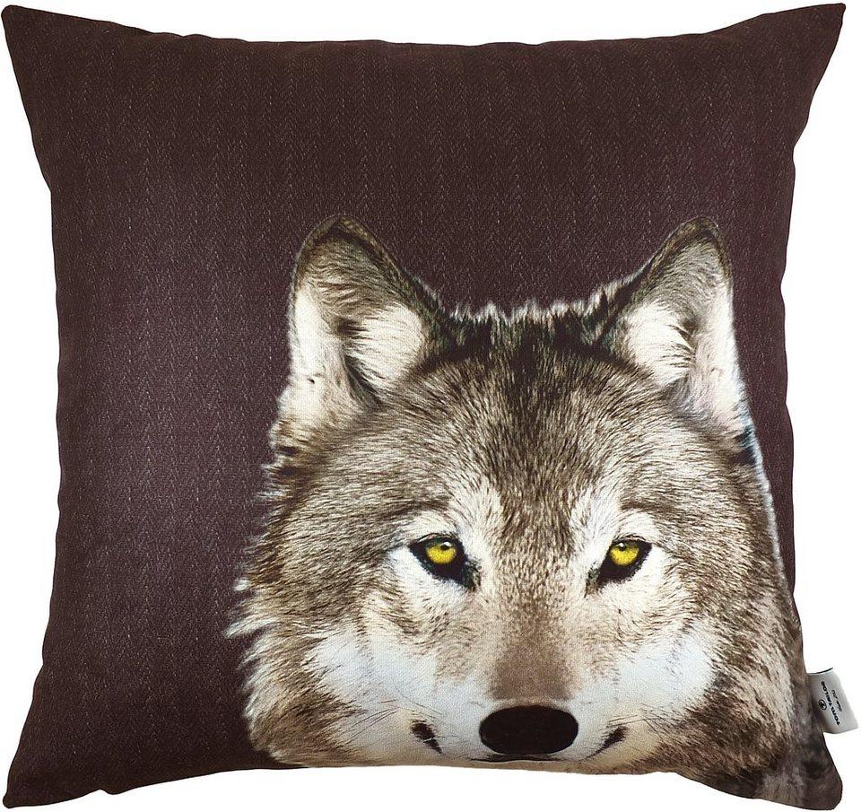 kissenh llen tom tailor wolf 1 st ck kaufen otto. Black Bedroom Furniture Sets. Home Design Ideas