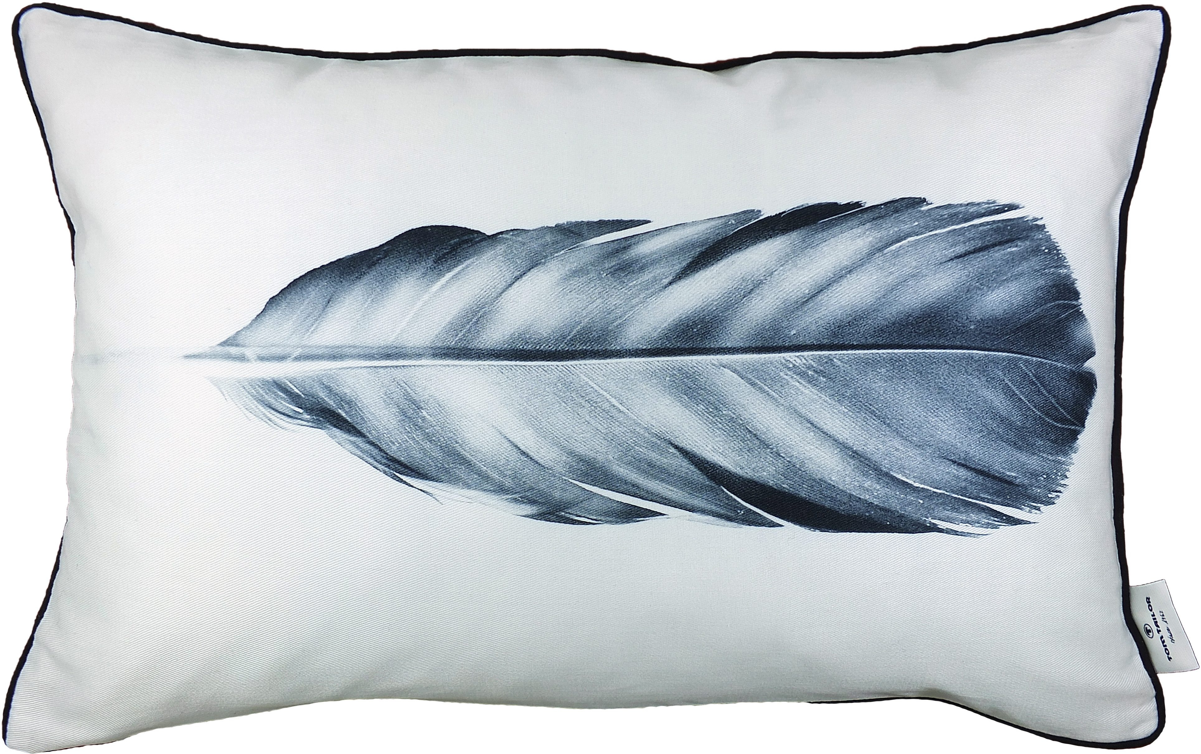 Kissenhüllen, Tom tailor, »Grey Feather« (1 Stück)