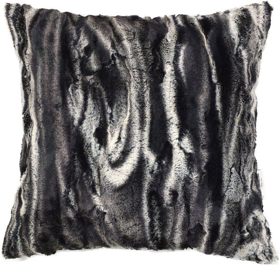 Kissenhüllen, Tom tailor, »Antelope« (1 Stück) in schwarz/weiß