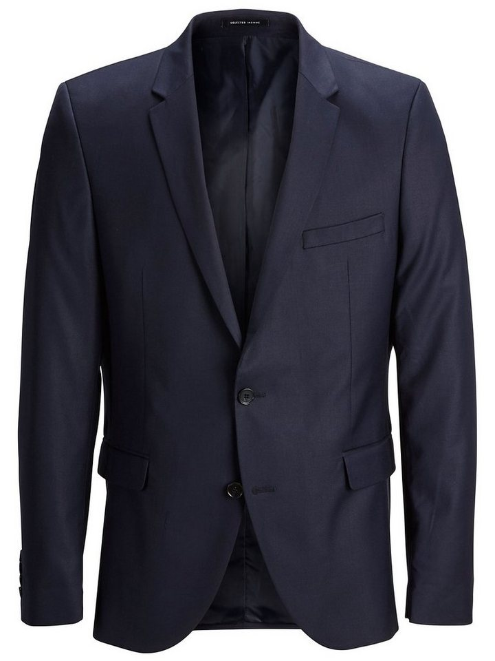 Selected SHMyloLogan - Slim Fit Blazer in Navy