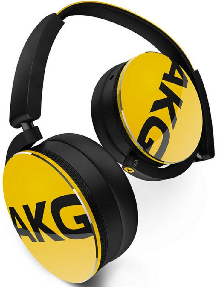 AKG On Ear Kopfhörer »Y 50« in gelb