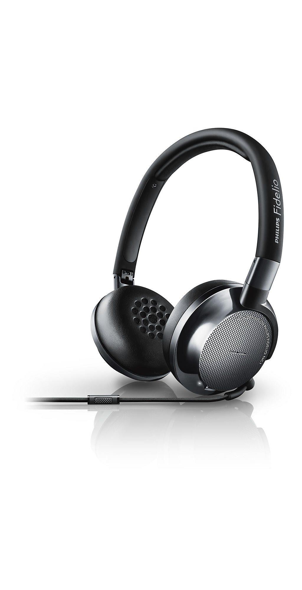 Philips Fidelio Noise Cancelling OnEar Kopfhörer »NC1/00«