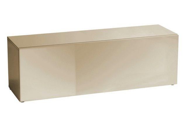 heine home Lowboard Hochglanz lackiert braun   08054383120116