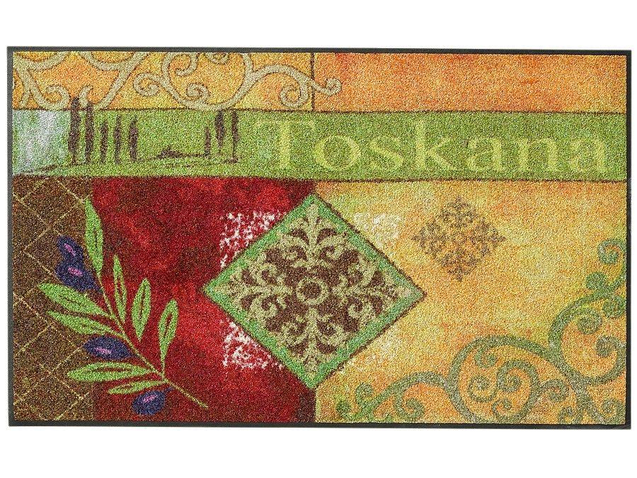 "wash & dry Fußmatte ""Toskana Ornament"" in bunt"