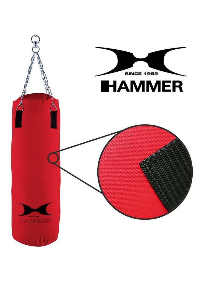 Boxsack, HAMMER®, »Canvas« in rot