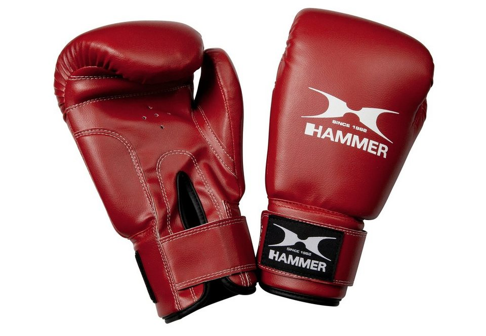 Boxhandschuhe, Hammer®, »Fit«, PU, rot in rot