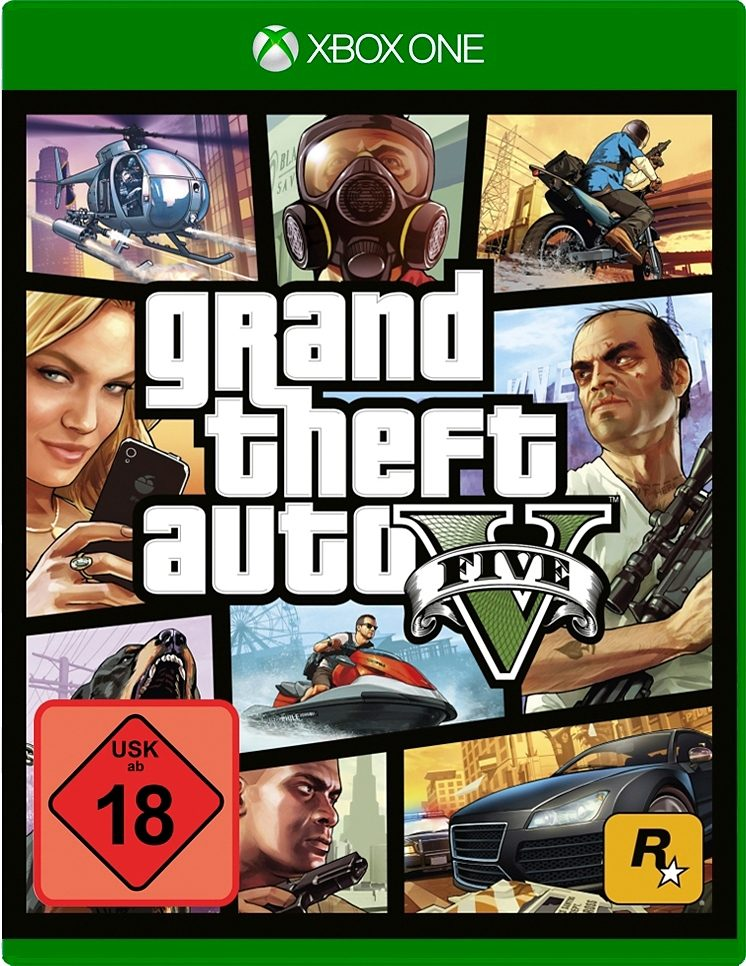 Grand Theft Auto 5 (GTA V) Xbox One
