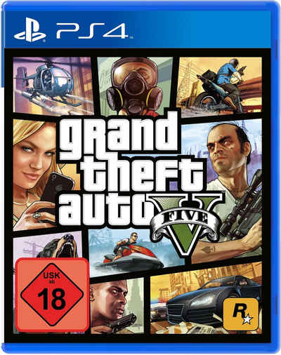 Terpe Angebote Grand Theft Auto 5 (GTA V) PlayStation 4