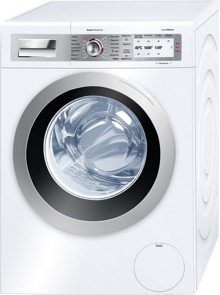BOSCH Waschmaschine WAY2874S, A+++, 8 kg, 1400 U/Min in weiß