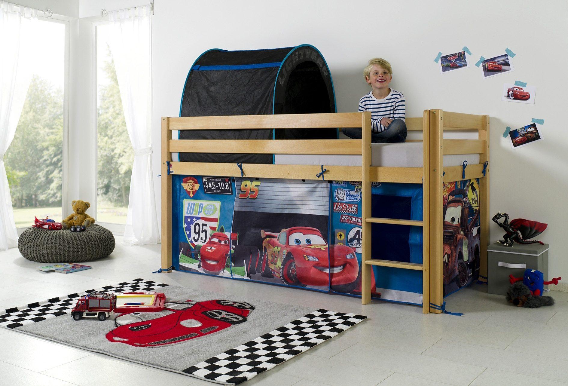 Etagenbett Vorhang Cars : Vorhang für hochbett sport startseite shopping