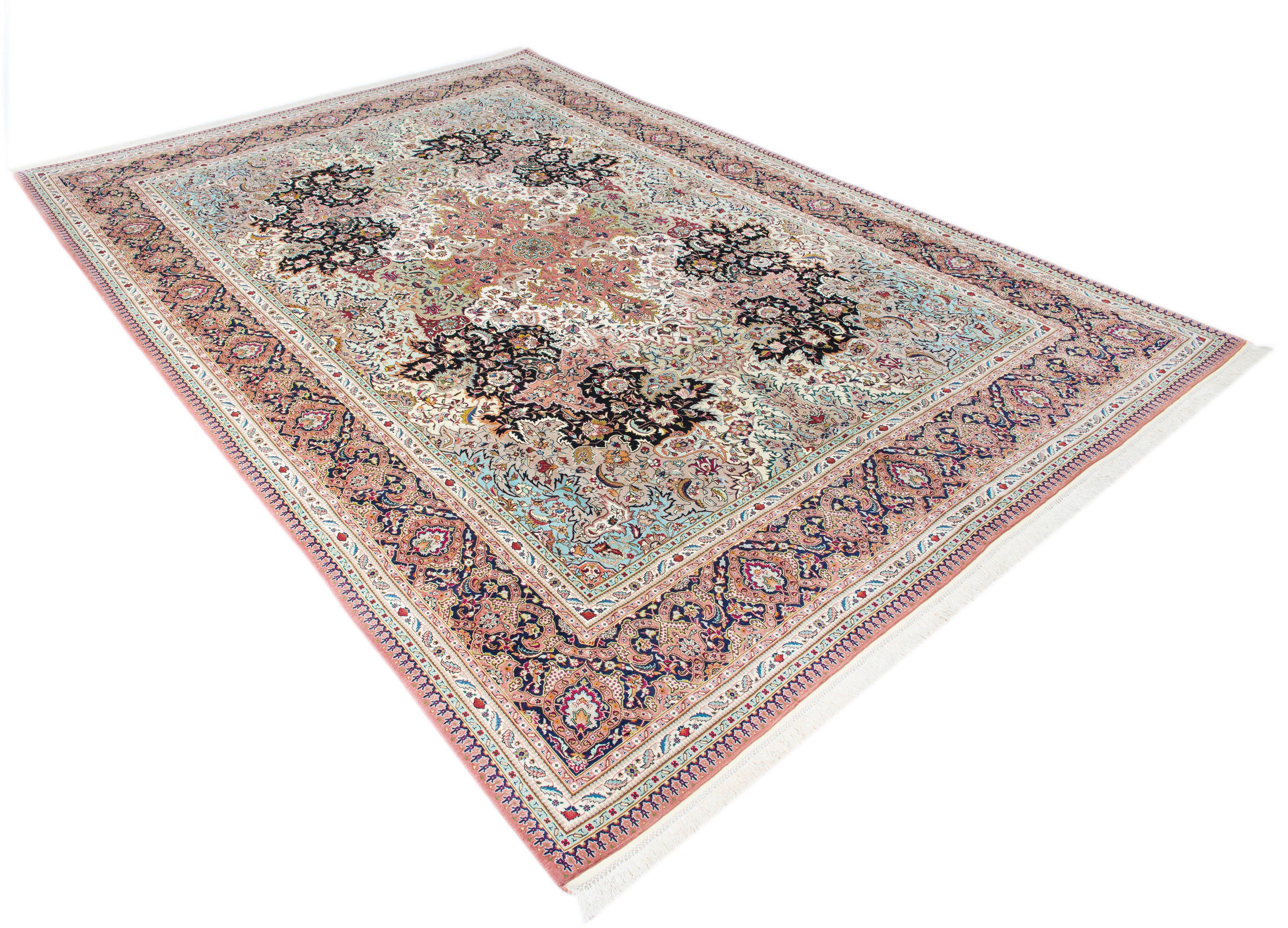 Orientteppich »Tabris«, Parwis, rechteckig, Höhe 15 mm, 1.000.000 Knoten/m²