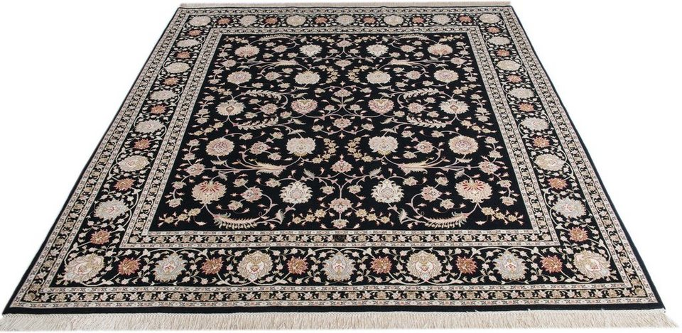 Orientteppich  Orient-Teppich, Parwis, »Tabriz Faraji«, handgeknüpft, Wolle ...