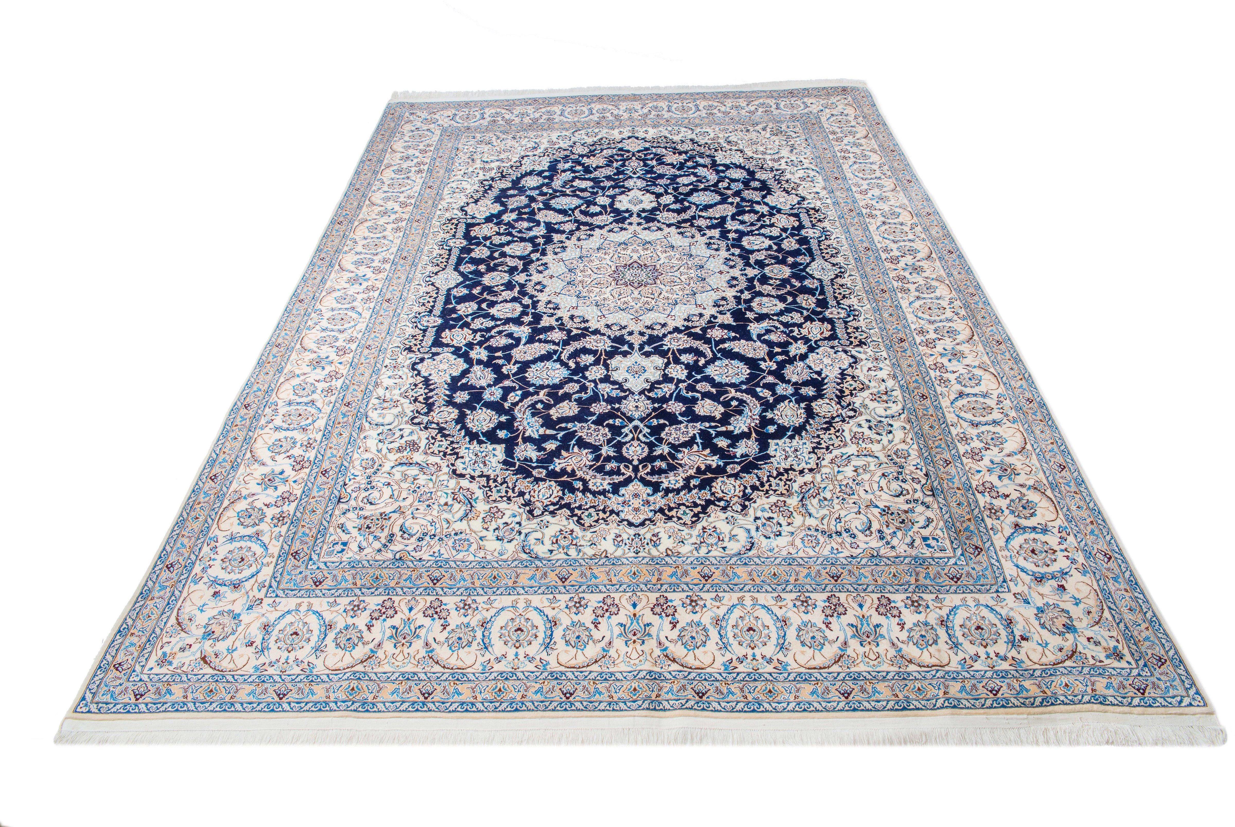 Orientteppich »Nain«, Parwis, rechteckig, Höhe 15 mm