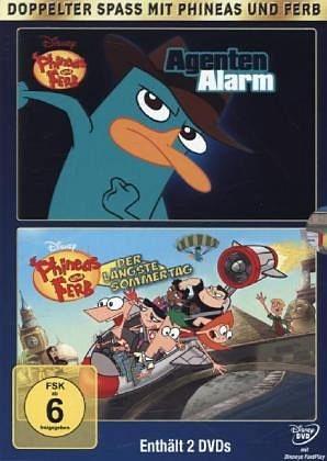 DVD »Phineas und Ferb - Agentenalarm / Phineas und...«