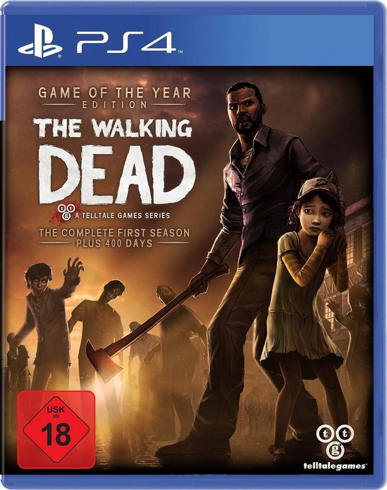 The Walking Dead - Game of the Year Edition PlayStation 4