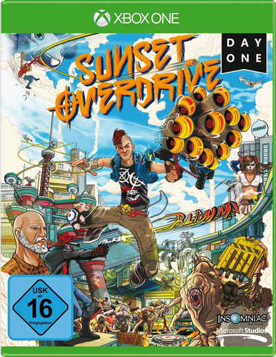 Sunset Overdrive - D1 Edition Xbox One