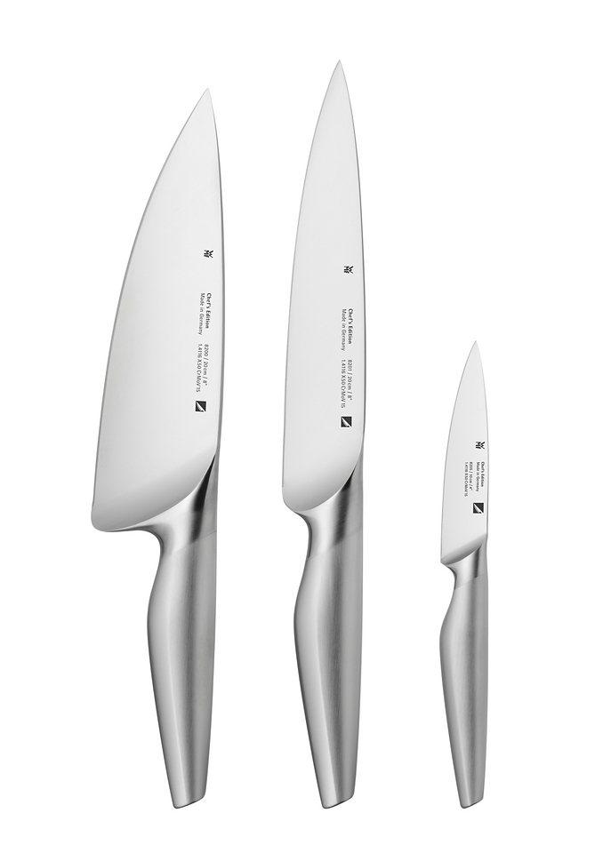 Messer-Set, »Chef's Edition«, WMF in silberfarben