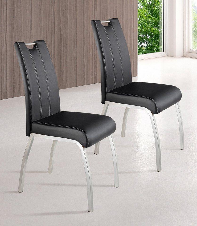Stühle (2 Stck.) in Kunstleder