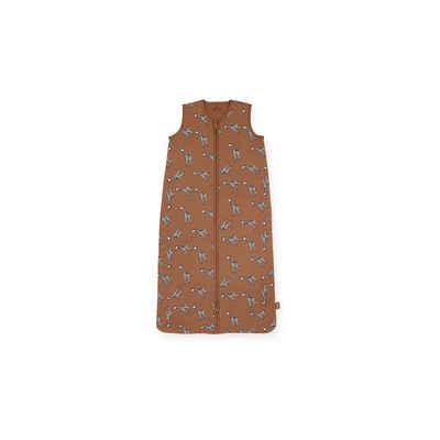 Jollein Babyschlafsack »Sommer-Schlafsack Giraffe, braun, 90 cm«