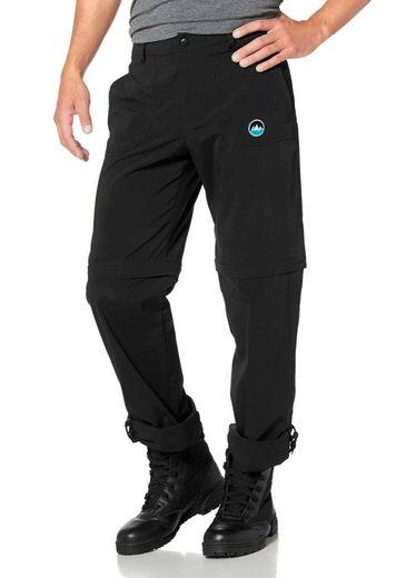 Polarino Trekkinghose, Tragbar als Shorts, 7/8-& lange Hose