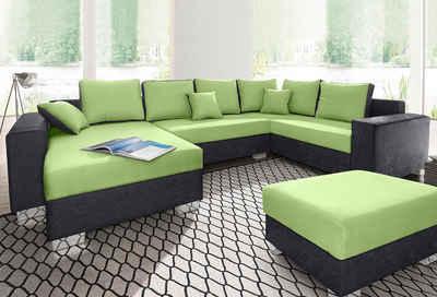 wohnlandschaft online kaufen » sofa in u-form | otto