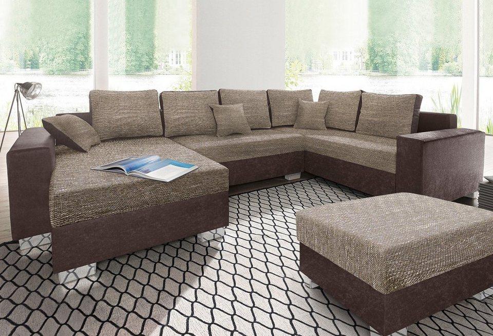 Wohnlandschaft Tisch Sofa Couches Wohnlandschaften