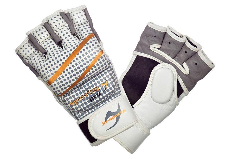 MMA-Handschuh, »sparring pro«, Ju-Sports in weiß
