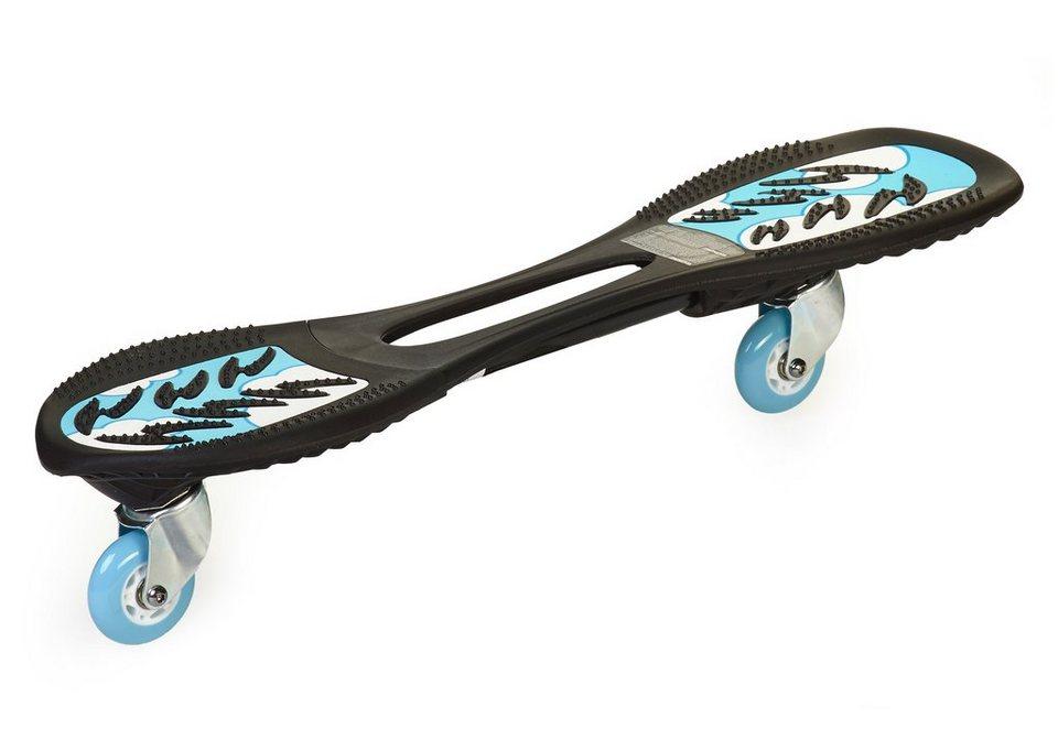 Jdbug Skateboard Powersurfer, »RT 169C« in schwarz-blau