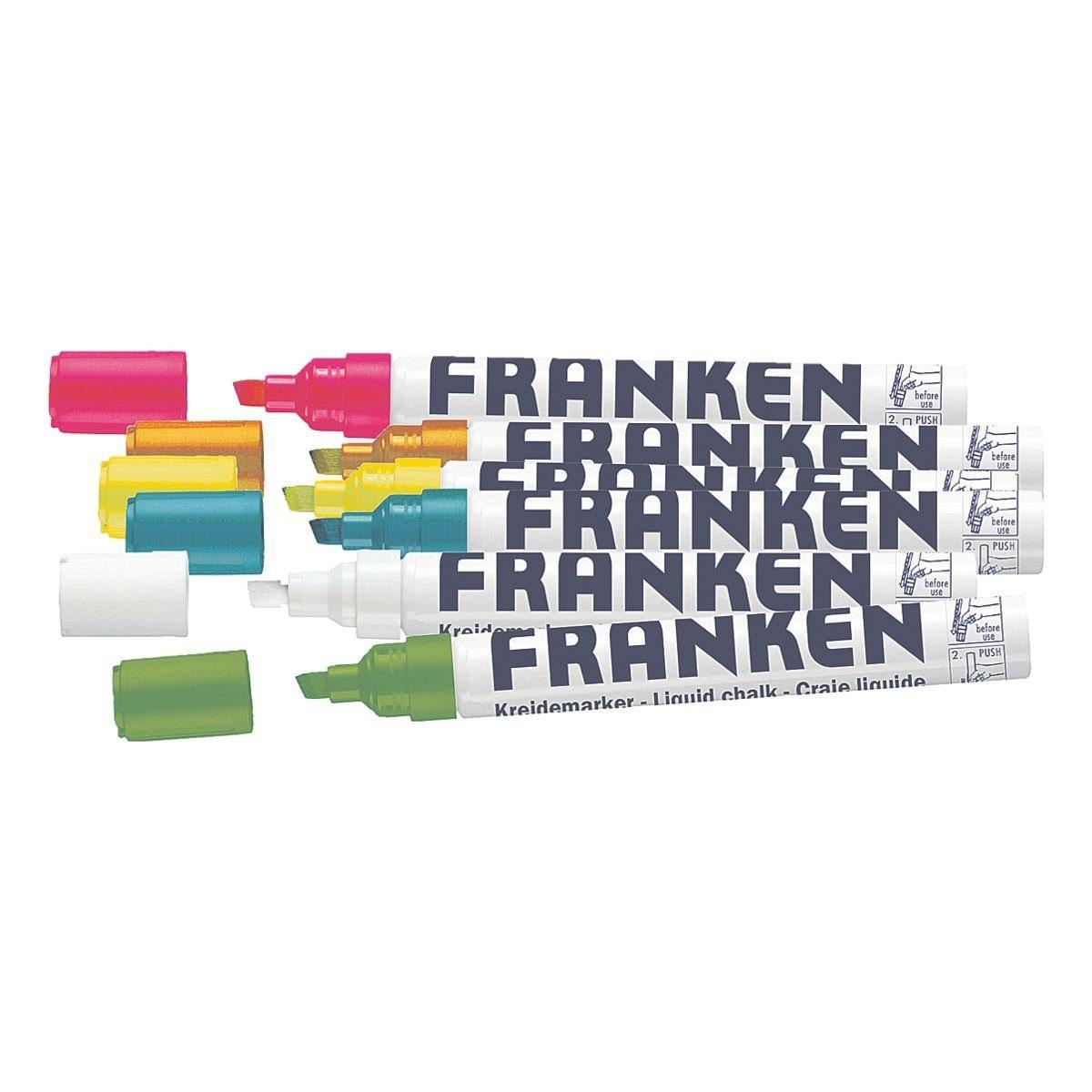 FRANKEN 6er-Pack Kreidemarker »ZKM97«