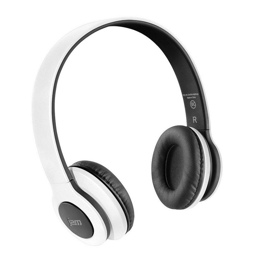 JAM Bluetooth Kopfhörer »JAM TRANSIT, HX-HP420-EU« in weiss