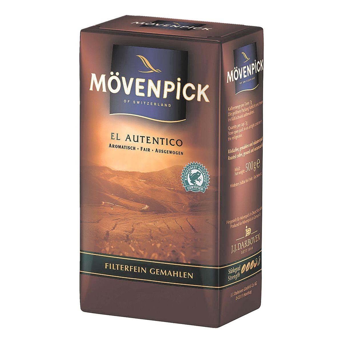 MOEVENPICK Kaffee - gemahlen »El Autentico«
