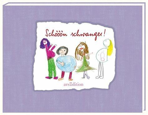 Buch mit Leinen-Einband »Schööön schwanger!«