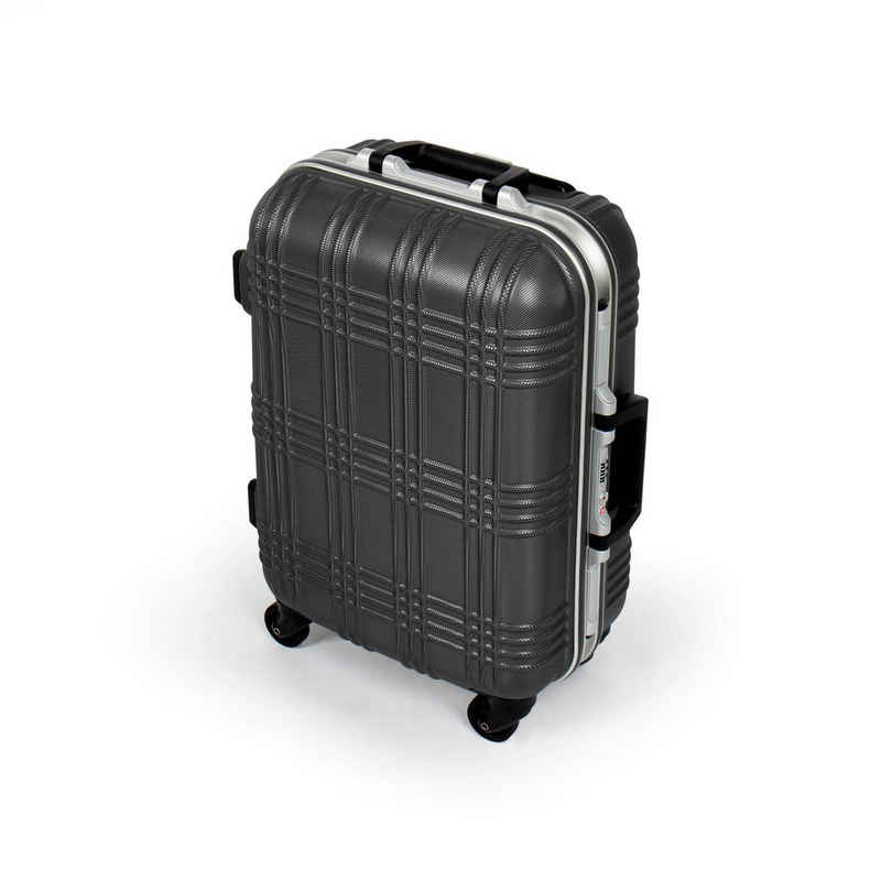 MasterGear Hartschalen-Trolley, 4 Rollen, Koffer TSA Bordgepäck Boardcase Reisekoffer