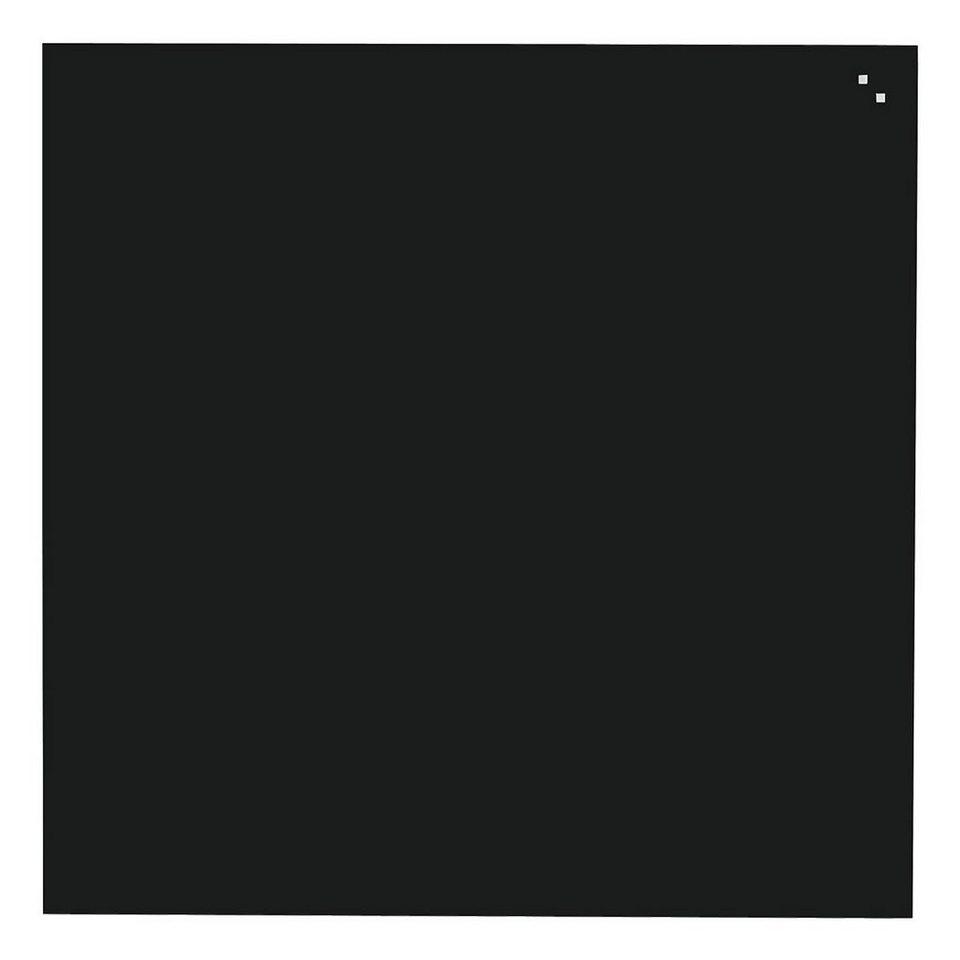 Franken Glas-Magnettafel in schwarz