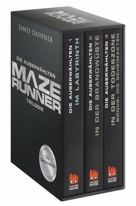 Broschiertes Buch »Maze Runner - Die Auserwählten Trilogie Bde.1-3«