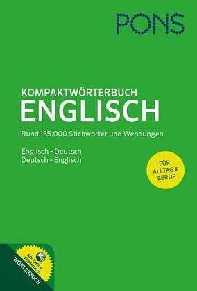 Gebundenes Buch »PONS Kompaktwörterbuch Englisch«