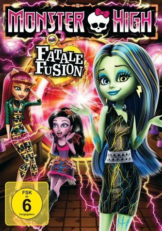 DVD »Monster High - Fatale Fusion«