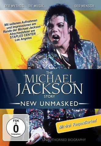 DVD »The Michael Jackson Story - New Unmasked (+ 3...«