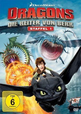 DVD »Dragons - Die Reiter von Berk, Vol. 1-4 (4 Discs)«