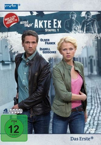 DVD »Akte Ex (1. Staffel, 8 Folgen) (4 Discs)«