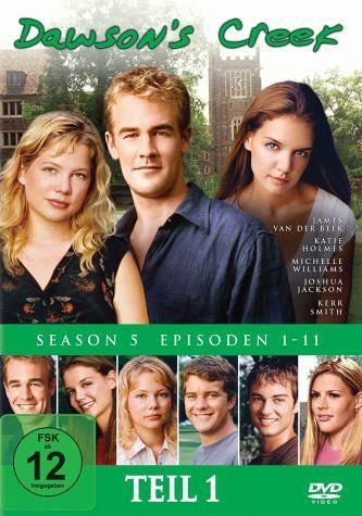 DVD »Dawson's Creek - Season 5, Vol.1 (3 Discs)«
