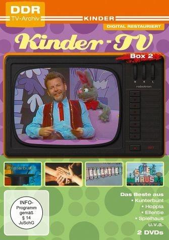 DVD »DDR TV-Archiv: Kinder TV: Box 2 (2 Discs)«